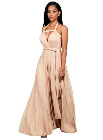 Hot fashion design strapless maxi dress - SimplyMorgans Boutique
