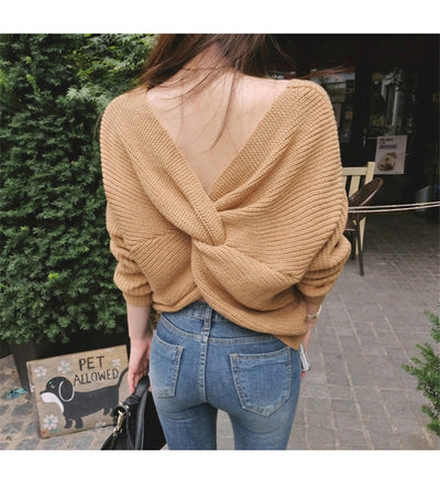 New Sexy Off Shoulder Sweater - SimplyMorgans Boutique