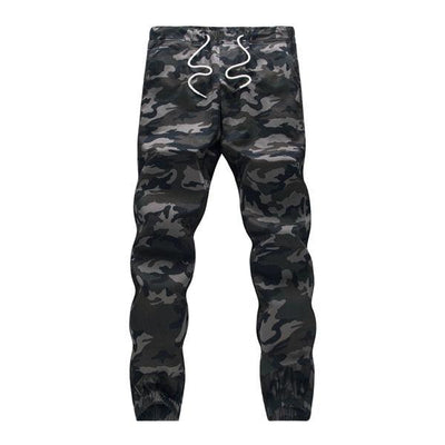 Mens Jogger Pencil Pants Camouflage - SimplyMorgans Boutique