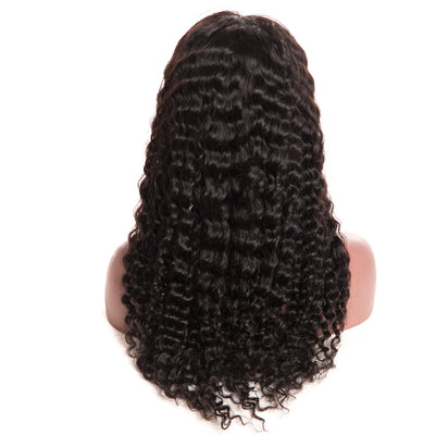 Pre Plucked Brazilian Deep Wave Wig With Baby Hair Non Remy - SimplyMorgans Boutique