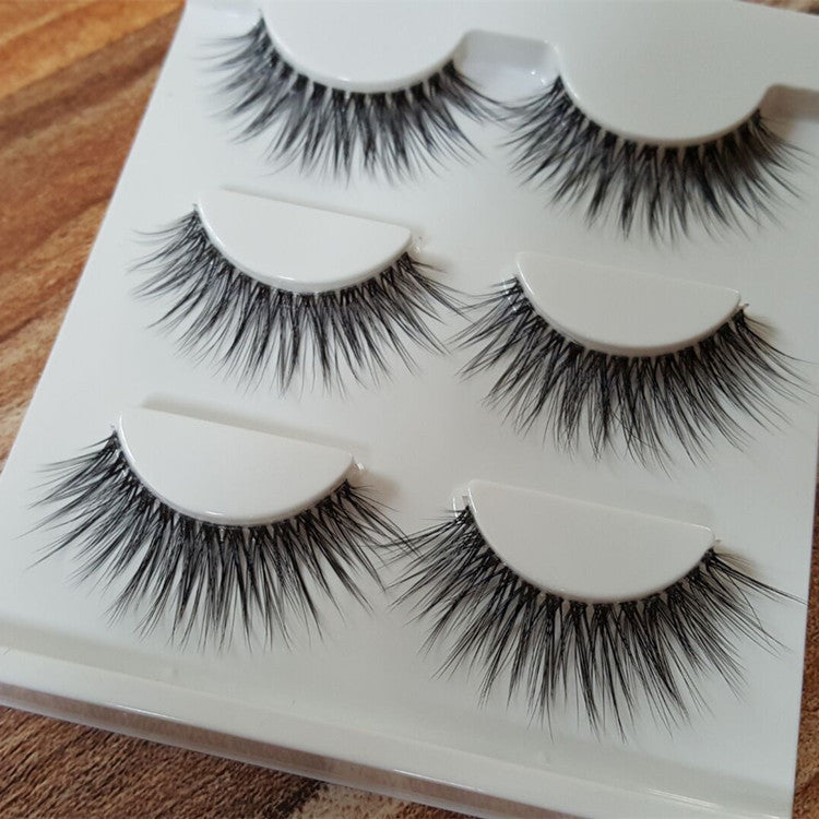 Sexy 100% Handmade 3D MINK Hair Beauty Thick Long False Mink Eyelashes - SimplyMorgans Boutique