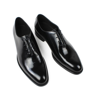 VIKEDUO Summer New Arrival Men's Oxford Dress Shoes 2019 Black Genuine Leather Formal Wedding Office Shoe Male Classic Zapatos