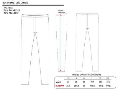 Leggings with Seamless pattern - SimplyMorgans,Leggings - Clothing