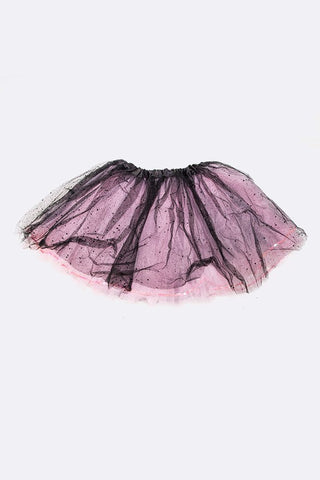BABY ROSE TODDLER TUTU HEADBAND SET - Fuschia