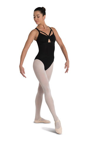 Danz N Motion Double Strap Lace Back Leotard
