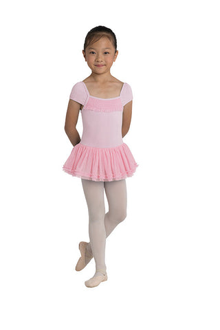 Danz N Motion Cap Sleeve Dress Leotard