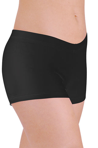 Danz N Motion Solid Booty Shorts - Youth