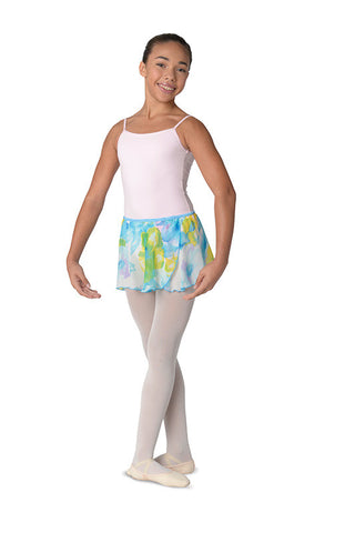Danz N Motion Pastel Flower Skirt