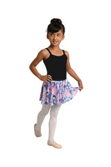 Printed Mesh Circle Skirt, Child