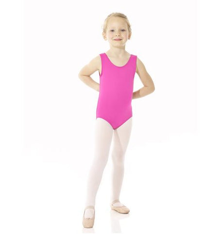 Tank Leotard - Baby Blue