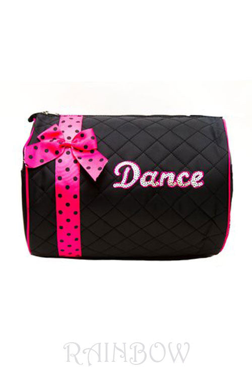 Silver Sequin Dance Bag