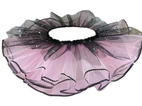 tutu skirt with sequin trim