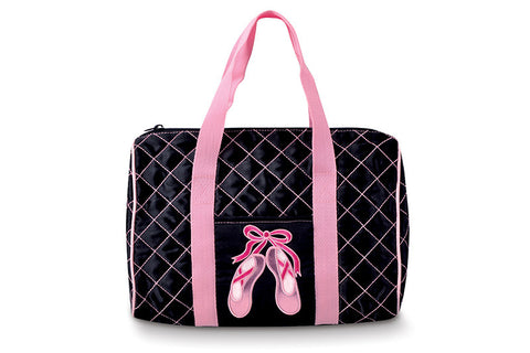 "Danshuz Quilted ""On Pointe"" Dance Bag"