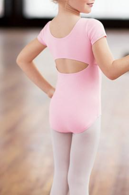 Little Stars Keyhole Short Sleeved Leotard