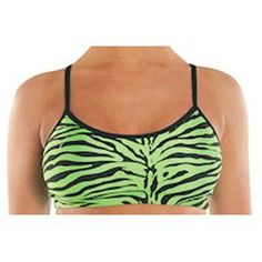 Danz N Motion Animal Print Bra Top