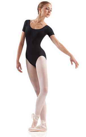 LEO Short Sleeve Leotard - ADULT