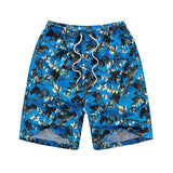 Summer Holiday Various Floral Pattern Quick Dry Swimming Casual Beach Shorts For Men