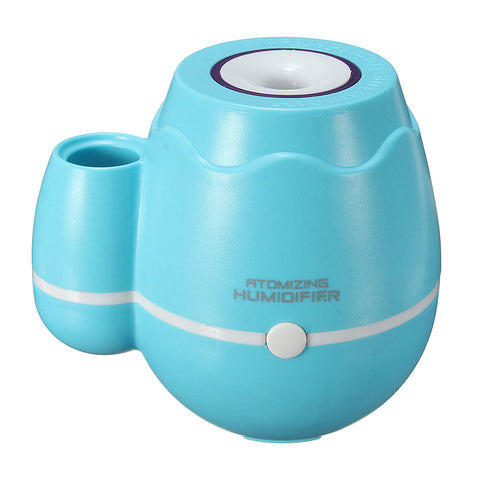 Mini USB Ultrasonic Vase Shaped Essential Oil Humidifier Air Purifier Mist Maker Atomizer