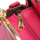 Fashion Women Bowknot Leather Crossbody Bag