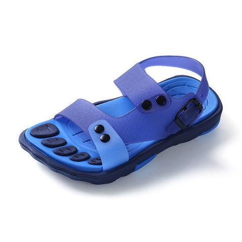 Boys Girls Summer Beach Sandals Children Slip-resistant Wear-resistant Shoes Kids Slippers