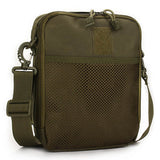 Men Women Nylon Sport Outdoor Tactical Army Ipad Shoulder Crossbody Bag