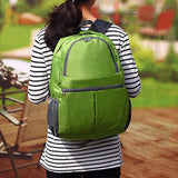 Men Women Backpack Lighweight Foldable Skin Bag Nylon Travel Bag