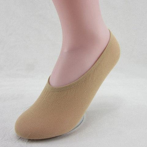 Multi-Color Cotton Women Thin Shallow Low Cut Ankle Short Hosiery