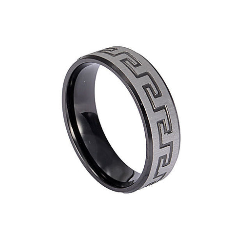 316L Stainless Steel Great Wall Finger Ring