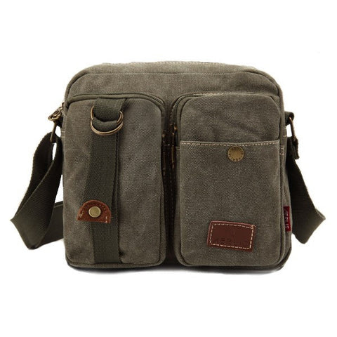 AERLIS Men Canvas Casual Sport outdoor travel Crossbody Bag - shechoic.com