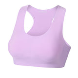 Women Sexy Seamless Ice Silk Sports Bras Breathable Soft Wireless Yoga Bras