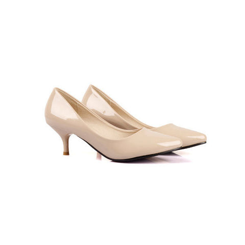 Fashion Candy Color Office Lady High Heel Pumps