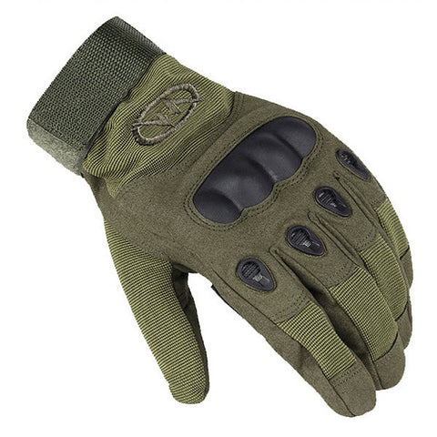 Men Outdoor Tactical Gloves Microfiber Military Antiskid Hunting Full Finger Gloves