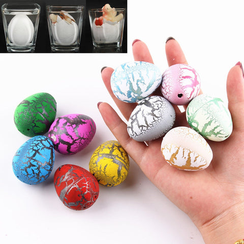 10PCS Hatching Growing Dinosaur Dino Eggs Add Water Magic Tricky Toys Cute Children Toy Gift