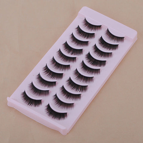 10 Pairs Fancy Fashion False Eyelash Charming Eye Lash Makeup