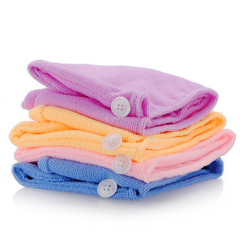 Lady's Magic Soft Microfiber Hair Fast Drying Towel Hat