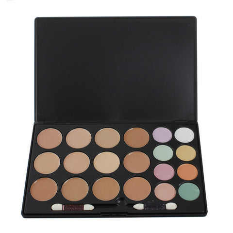 20 Colors Flawless Makeup Concealer Palette Set