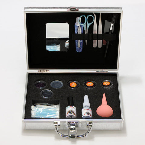 Professional False Eyelashes Eye Lash Extension Set Kit With Case