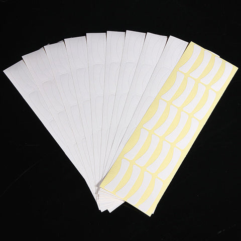 100 Pairs Eyelash Tape Individual Extension Eye Pads Lash Tools