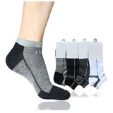 Men's Summer Highly Elasticity Short Boat Socks Cotton Casual Ankle Socks