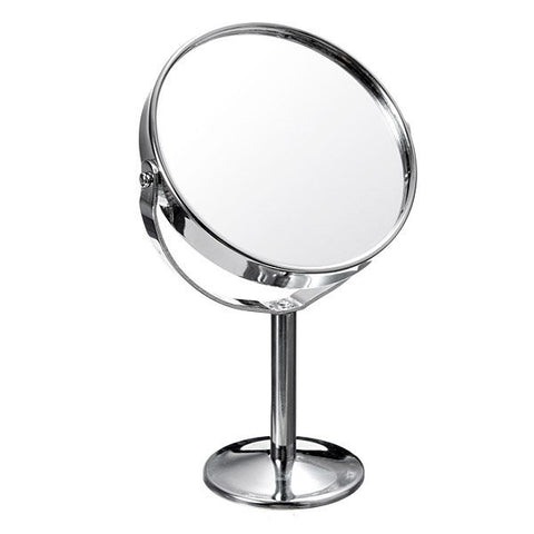 Dual Side Makeup Cosmetic Normal Magnifying Stand Vanity Mirror