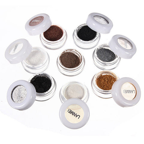 8 Colors Smoking Mineral Pigment Powder Eye Shadow Makeup Set