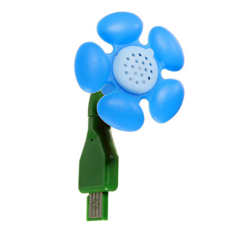 USB Aroma Mini Diffuser Flower-shaped Air Humidifier For Home Office Car
