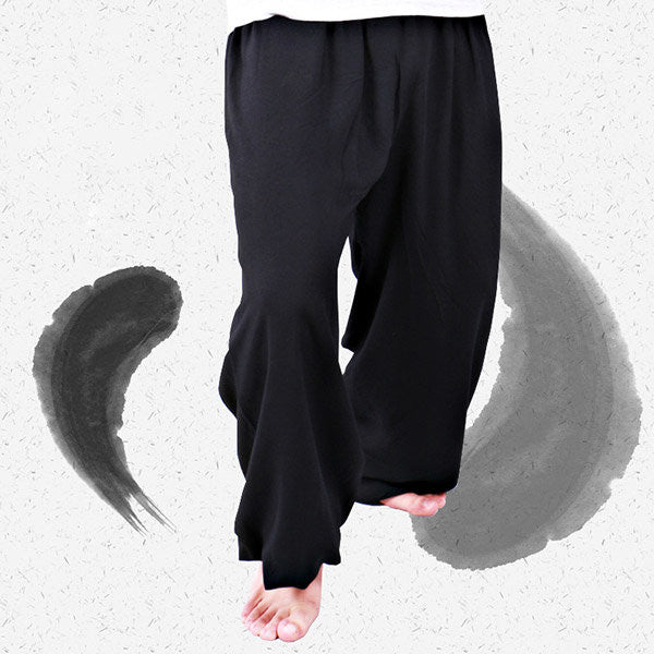 Modal Loose Yoga Pants Morning Practice Sports Pants For Men