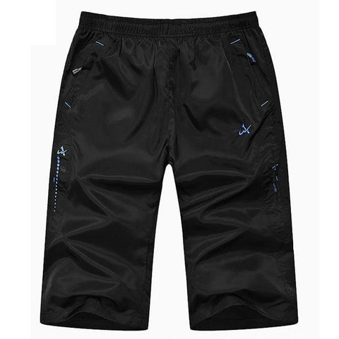 Big Size Summer Capri Pants Casual Quick Drying Thin Sports Casual Pants For Men - shechoic.com
