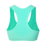Women Sexy Breathable Mesh Sports Bra Comfort Seamless Sleeping Yoga Bras