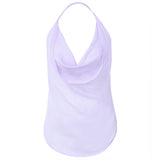 Sexy Transparent Chiffon Bellyband Temptation Babydoll Halter Hollow Nightdress For Women