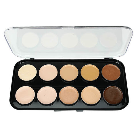 10 Colors Face Concealer Palette Facial Makeup Cosmetic