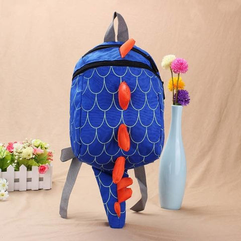 Baby Kids Cute Lovely Dinosaur Waterproof School Bag Casual Package - shechoic.com