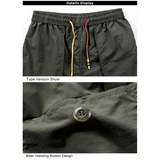 Summer Fashion Casual Elastic Quick-Dry Loose Plus Size Beach Shorts For Men