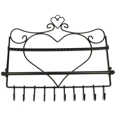 Heart Shaped Jewelry Display Holder
